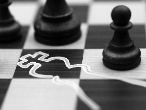 """Tytuł: """"Checkmate"""" autor: meppol źródło: www.deviantart.com"""